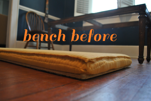 bench before