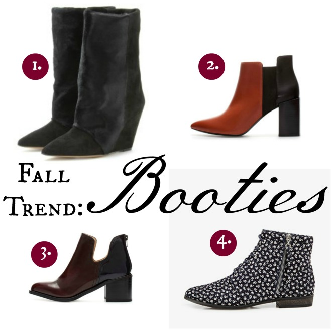 Fall Leather Booties 1