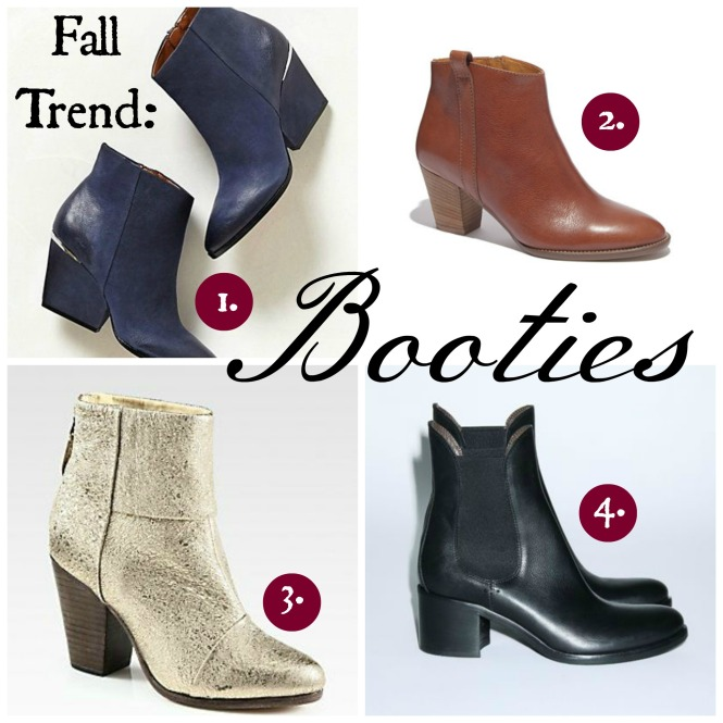 Fall Leather Booties 2