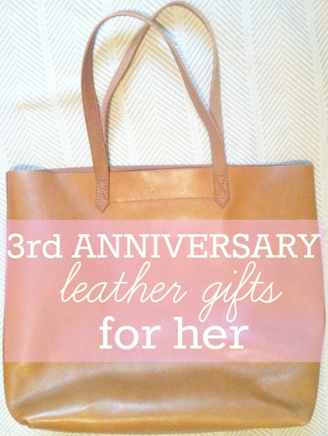 leather gifts for her