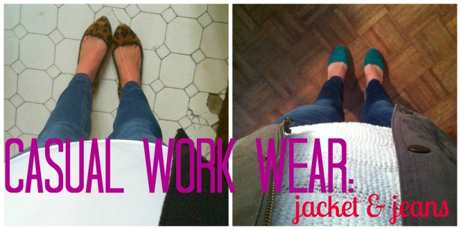 jeans at work