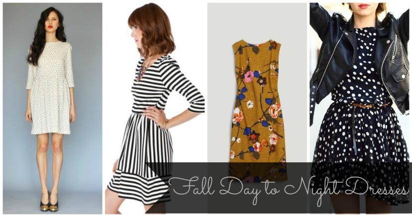 4 fall dresses