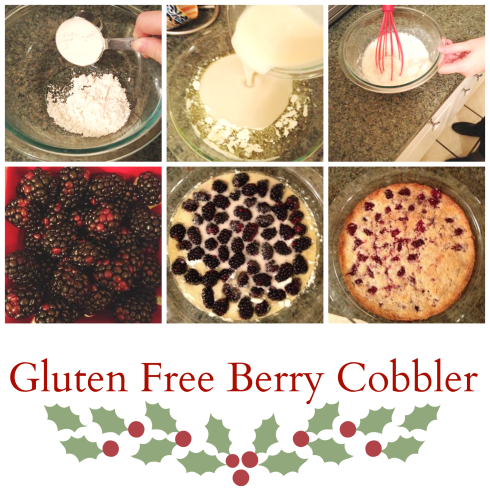 Gluten Free Cobbler How To