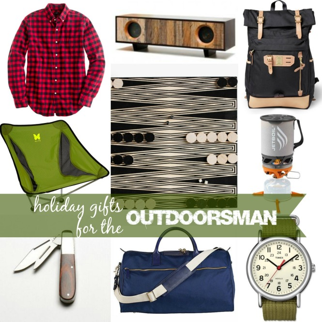 holiday giftsoutdoorsman