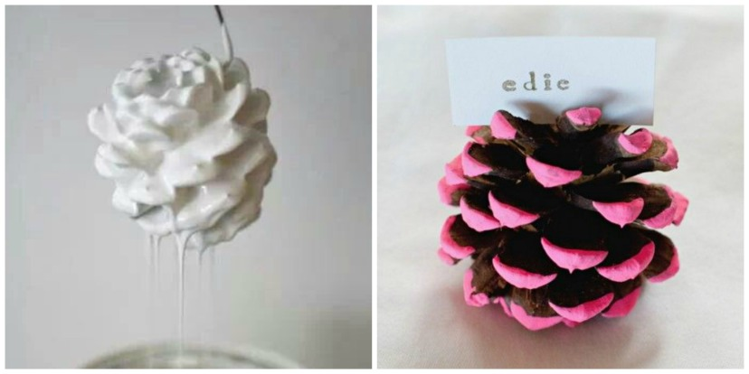 Pinecone Holiday Craft 1