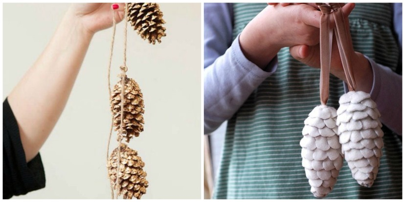 Pinecone Holiday Craft 2