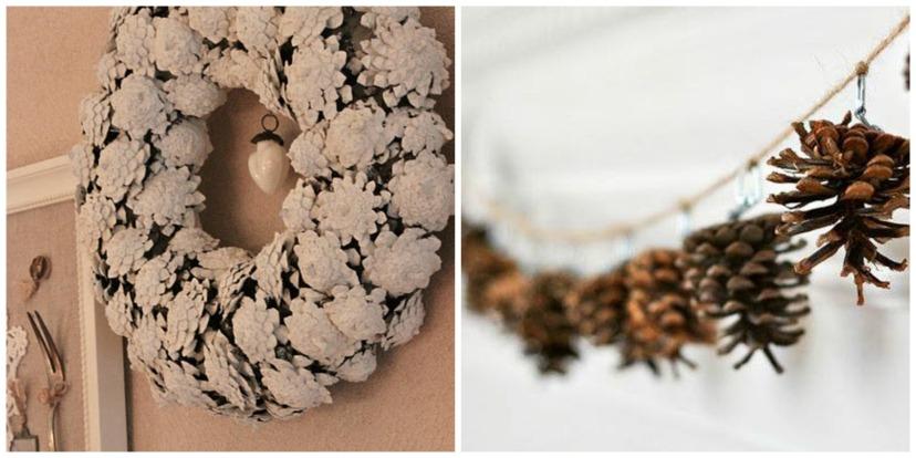 Pinecone Holiday Craft 3