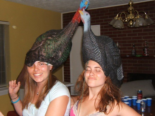 turkey heads
