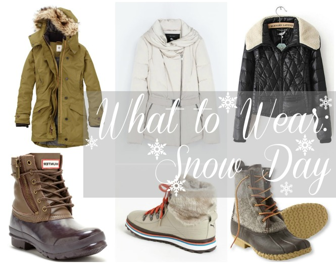 What to Wear Snow Day