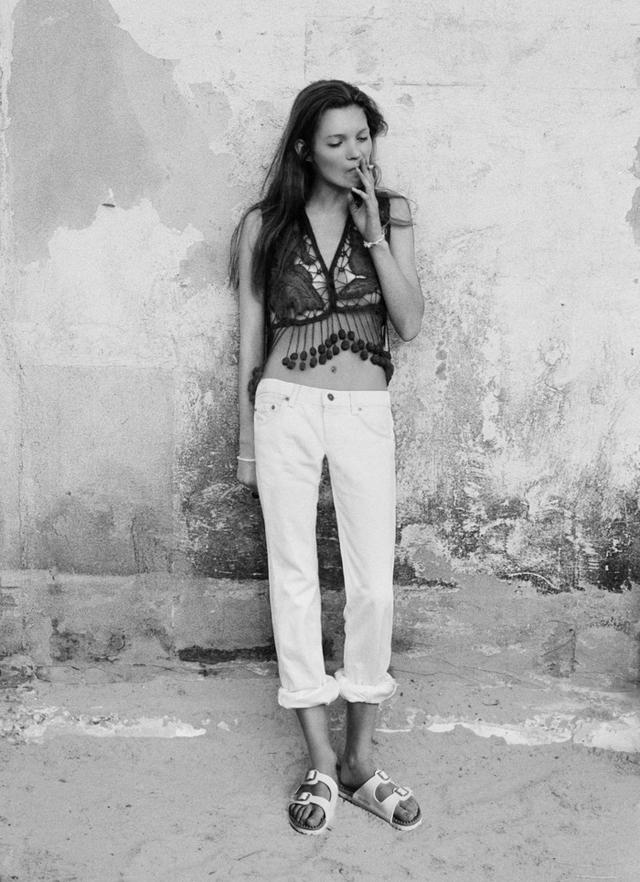Birkenstock Kate Moss Face July 1990