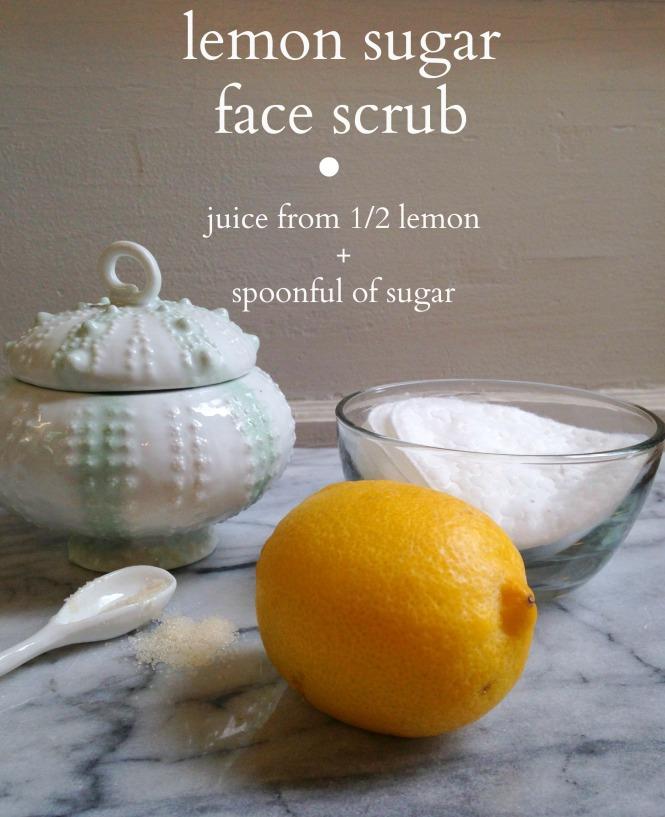 lemon sugar face scrub 2