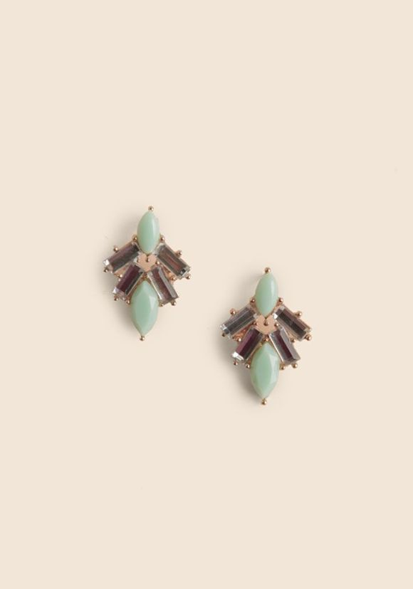 shop ruche earrings